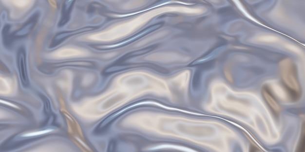 Superficie metallica lamiera d'acciaio raggrinzita tacche di lamiera zincata illustrazione 3d