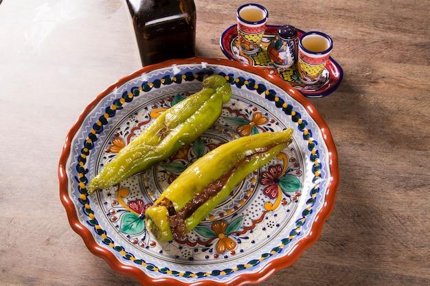 Cucina messicana con peperoncino