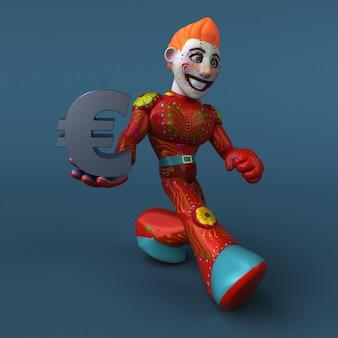 Eroe messicano - personaggio 3d