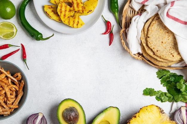 Tacos messicano al pastore