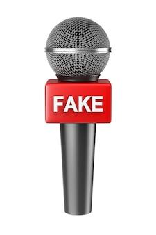 Notizie false del microfono isolate