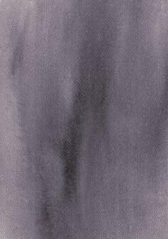Struttura minima dell'acquerello nero dipinto sfondo astratto originale organico fatto a mano