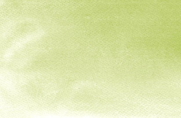 Minimo pastello bambino colori verde brillante struttura dell'acquerello pittura sfondo astratto fatto a mano