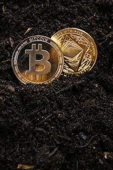L'estrazione di criptovalute come ethereum e bitcoin richiede di scavare più a fondo nel terreno.