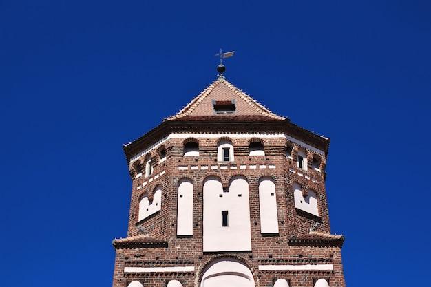 Mir castle nel paese della bielorussia
