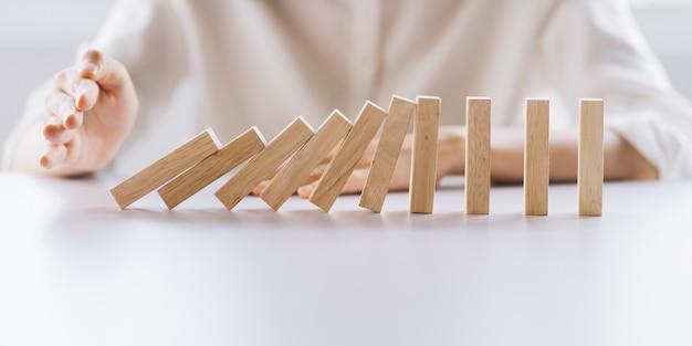 Un comportamento scorretto porta a un collasso della catena