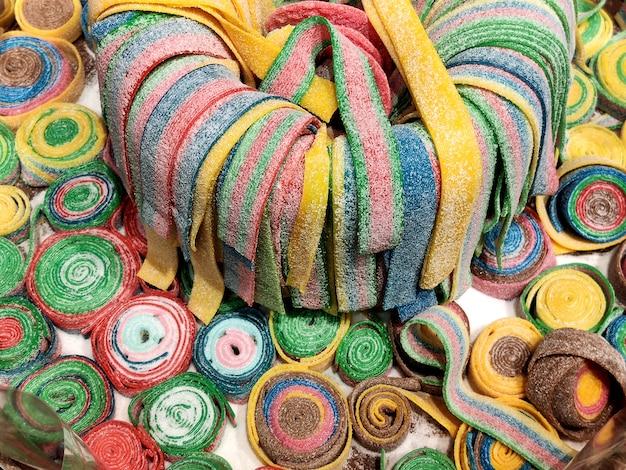 Gummies di frutta mista grande piano
