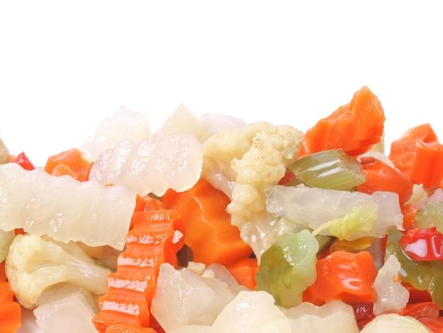Sfondo di verdure miste