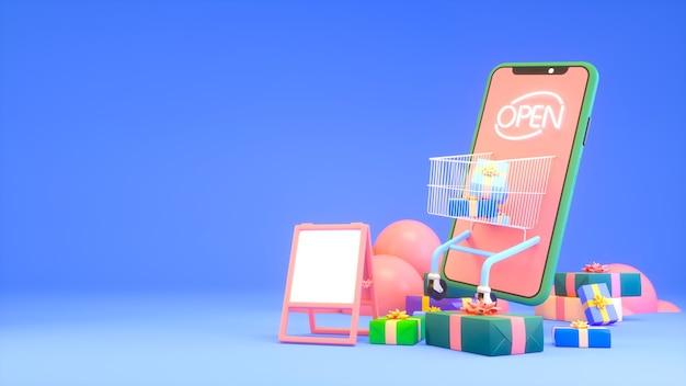 Acquisto di app per dispositivi mobili con scatole regalo