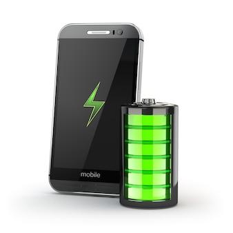 Telefono cellulare con batteria