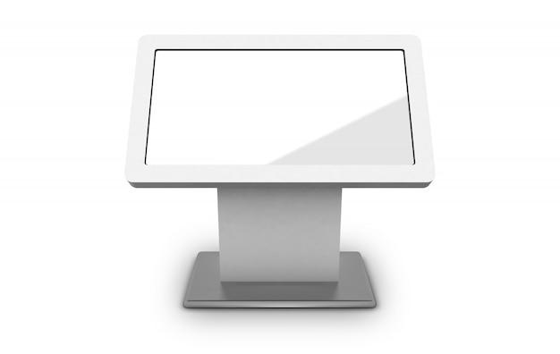 Mockup digital signage kiosk