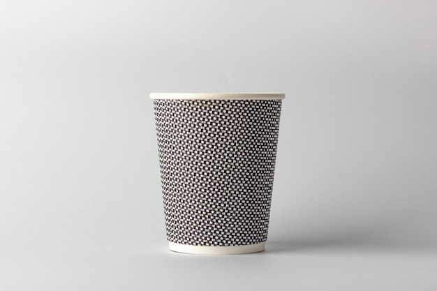 Tazza da caffè in carta mockup