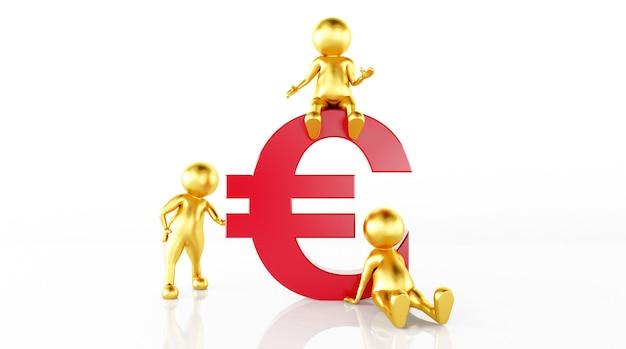 Il rendering del modello governa il denaro