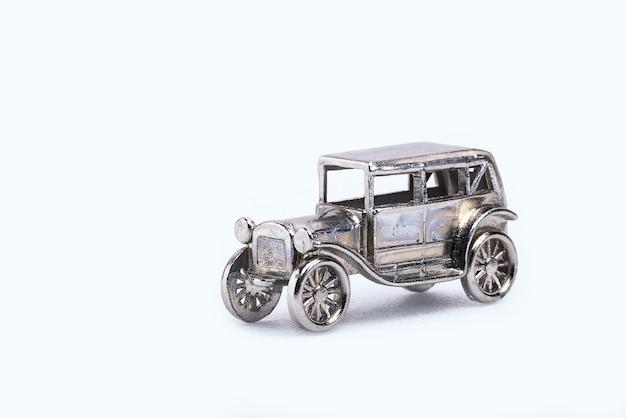 Modellino di auto retrò in miniatura