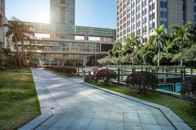 Architettura moderna nelle città cinesi