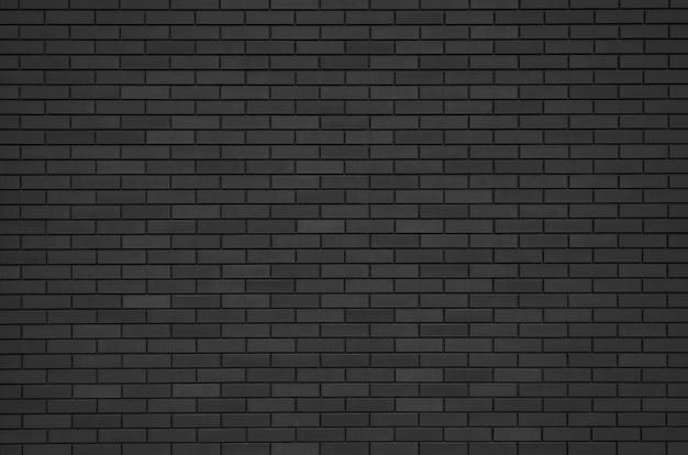 Struttura nera moderna del muro di mattoni per