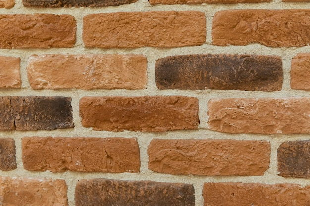Fondo marrone moderno di struttura del muro di mattoni