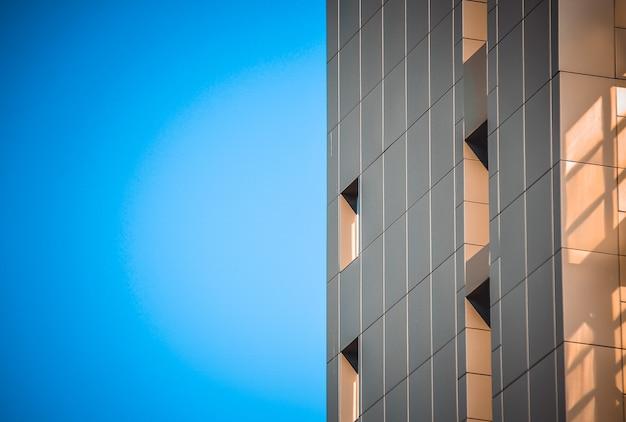 Facciata di un edificio moderno