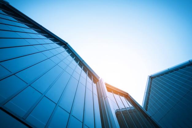 Muro di vetro edificio moderno