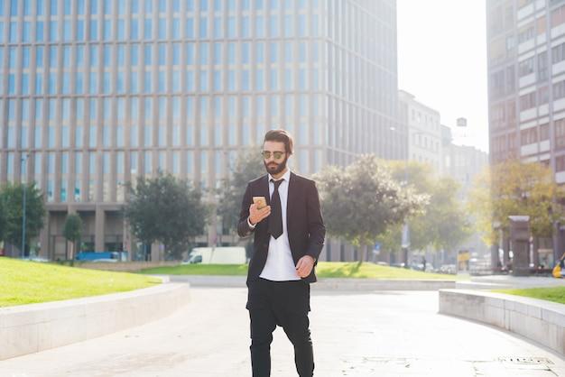 Uomo d'affari moderno