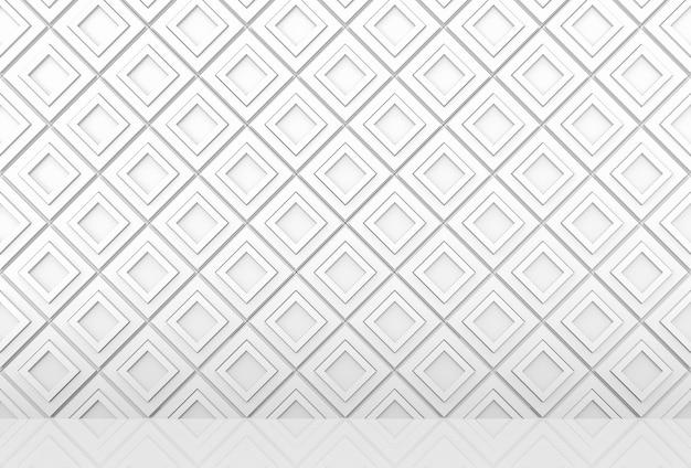 Sfondo di muro e pavimento moderni blocchi di griglia modello quadrato diangonal.