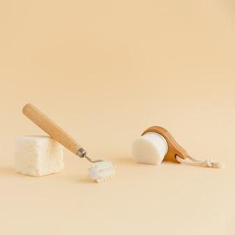 Attrezzi da bagno moderni ed ecologici palline da bagno con acqua micellare per massaggio viso morbido naturale