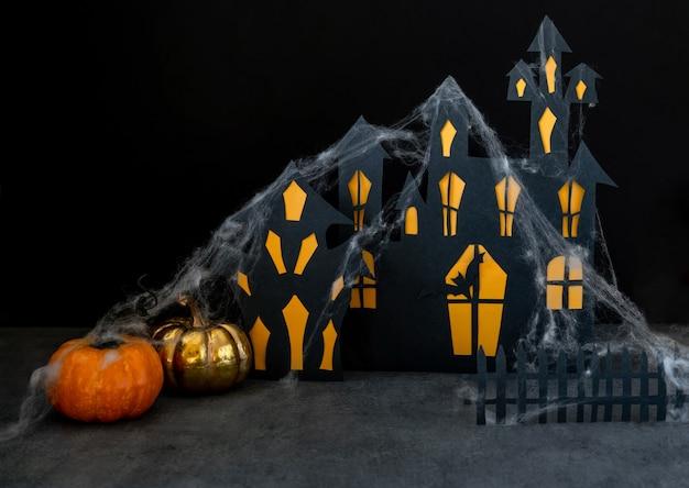 Sfondo moderno di halloween Foto Premium
