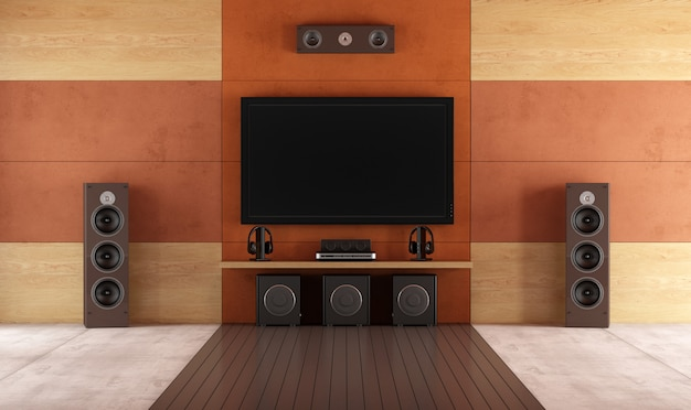 Moderna sala home theater