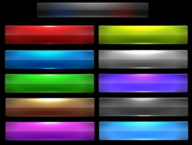 Modello di infografica moderna con opzioni di colore