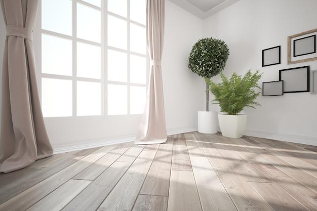 Modern interior design d illustrazione