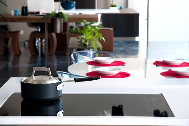 Particolare della cucina moderna