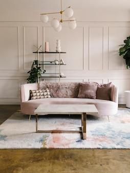 Uno stile soggiorno moderno