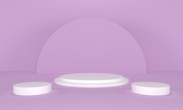 Sfondo del podio del prodotto minimalista moderno