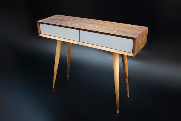 Cassetto moderno e minimalista realizzato a mano