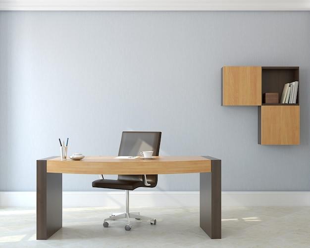 Interiore dell'ufficio moderno. rendering 3d.