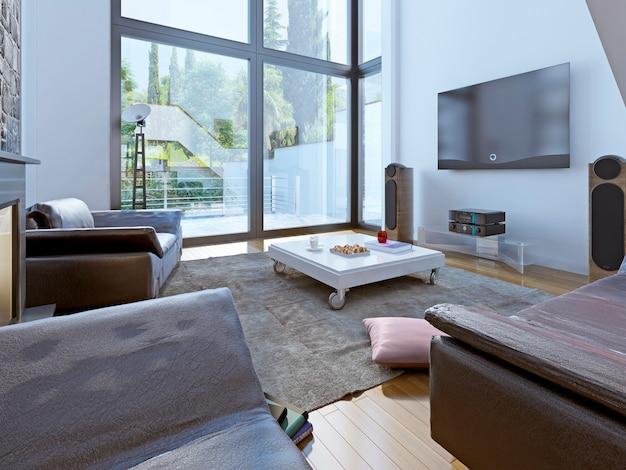 Design moderno del salotto.