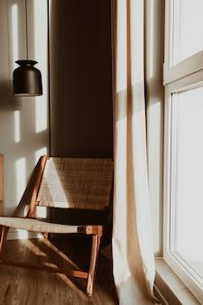 Concetto di interior design moderno ed elegante camera da letto