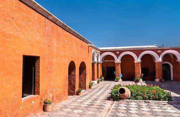 Monastero di santa catalina de siena ad arequipa, perù