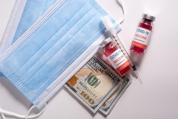 Soldi spesi per il vaccino covid 19 e le maschere mediche