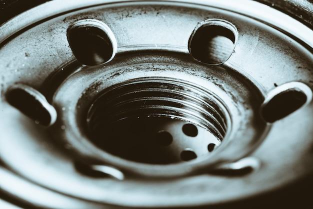 Fondo monocromatico del filtro dell'olio