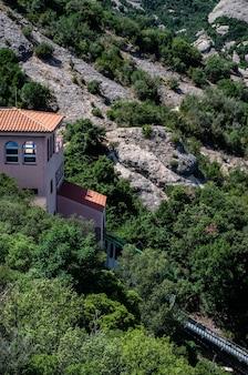 Monastero della montagna di montserrat, barcellona