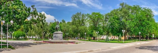 Monumento ad alexander suvorov a izmail, ucraina