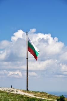 Il monumento sul passaggio di shipka, bulgaria
