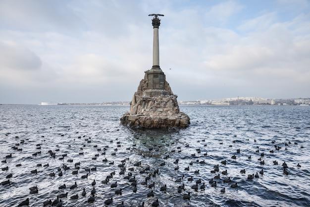 Monumento alle navi affondate a sebastopoli