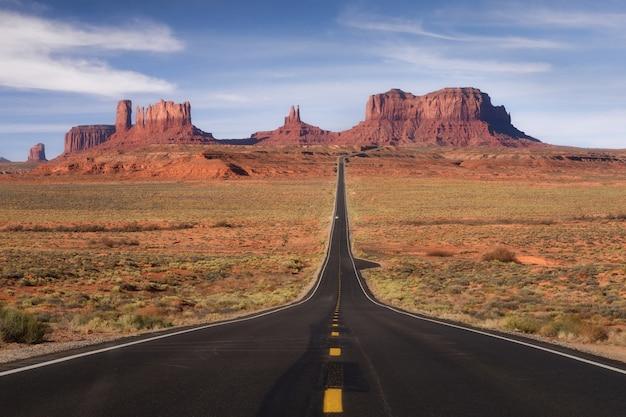 Monument valley, parco tribale, arizona, utah, usa