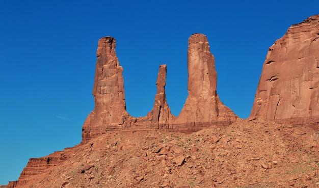 Monument valley in utah e arizona