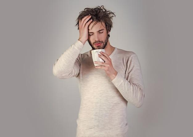 Mattina allegra con caffè o latte.