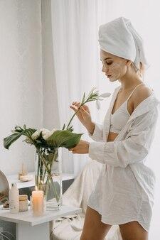 Routine di bellezza mattutina per la cura della pelle
