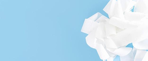 Carta igienica motolite con copia-spazio