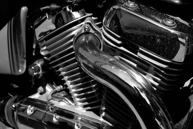Motore e motore del motociclo.